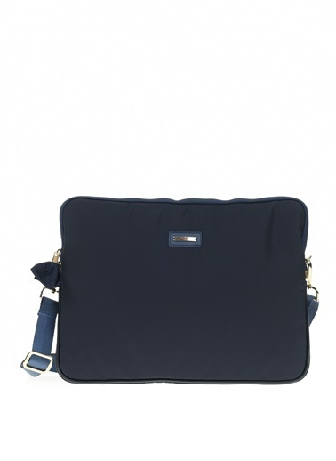 Cache The Bag Busy Laptop Case2001 (13-15 Inch Laptop, 12.9 Inch Ipad) Lacivert